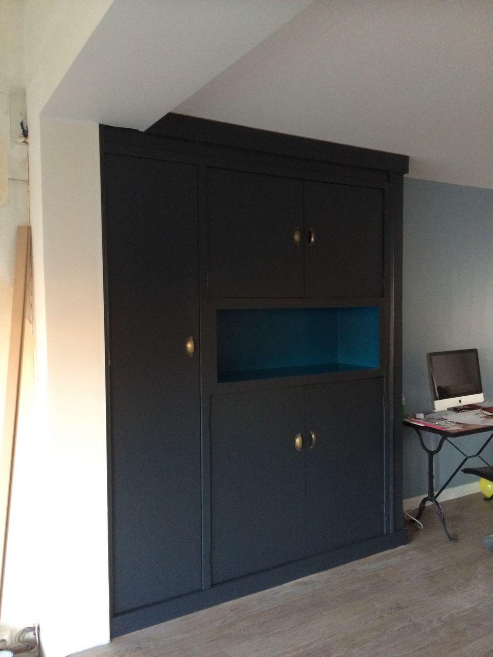 Aménagement intérieur  Création dun meuble placard  Alvea design  Déc -> Meuble Placard